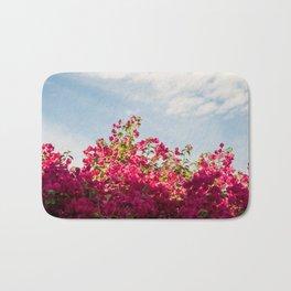 Flower Wall Art Bath Mat