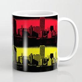 Miami Popart Panorama Coffee Mug