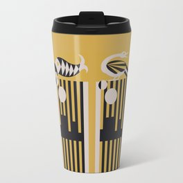 Art Deco Bird & Fish - Hemingway Travel Mug