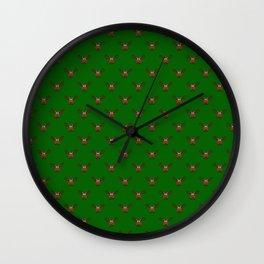Avocado Moose Wall Clock