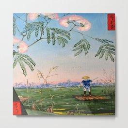 Flowering Acacia Metal Print