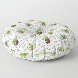 Plant Lady Floor Pillow