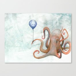 doom balloon Canvas Print