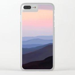 Breath Taking Blue Ridge Mountains Clear iPhone Case