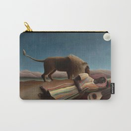 The Sleeping Gypsy by Henri Rousseau Carry-All Pouch