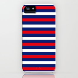 Neck Gaiter America Red White Blue Stripes Face Mask Bandana Balaclava Headband Made in the USA iPhone Case