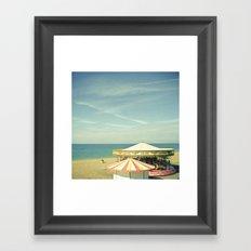 Fair by the Sea Framed Art Print
