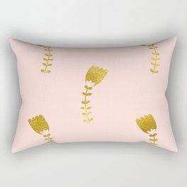 Pink Gold Foil 03 Rectangular Pillow