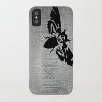 silence of the lambs iPhone & iPod Cases featuring Silence of the Lambs by Kat Phelps