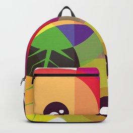 Color shapes & eye Backpack