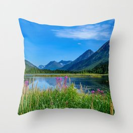 God's_Country 4129 - Alaska Throw Pillow