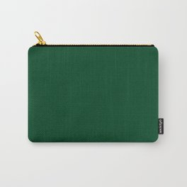 UP Forest green - solid color Carry-All Pouch