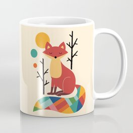 Rainbow Fox Coffee Mug