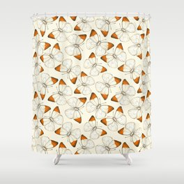 Butterfly pattern Shower Curtain