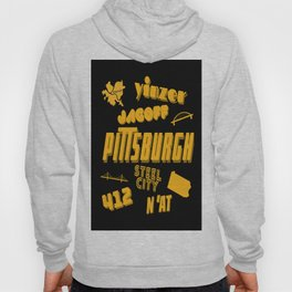 Pittsburgh Yinzer Jagoff Steel City 412 Retro Funny Gifts Hoody