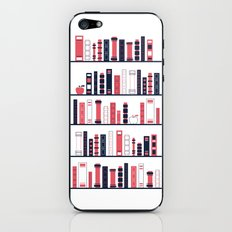 Shelves of Books Stylized iPhone & iPod Skin