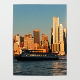 NY Waterway Poster