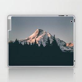 First Light on Mount Hood Laptop & iPad Skin
