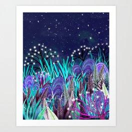 Plantes extraterrestres Art Print