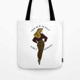Roz Doyle Pin-up Tote Bag