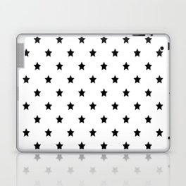 Black and white Star Pattern Laptop & iPad Skin