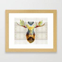 Mystic Moose Art by Sharon Cummings Framed Art Print
