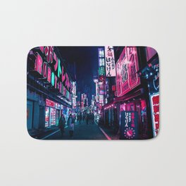 Nocturnal Alley Bath Mat