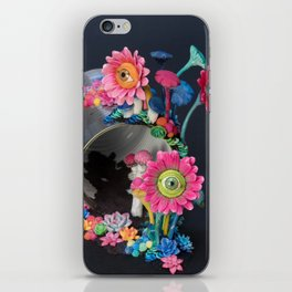 Candi(e)d Watch, Eyed Daisies and Mushrooms iPhone Skin