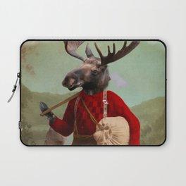 Lumberjack Marvin Moose Laptop Sleeve