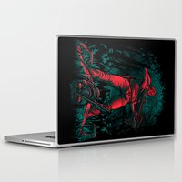 monster hunter Laptop & iPad Skins featuring Hunter by Fuacka
