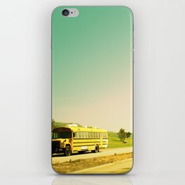 School bus iPhone Skin