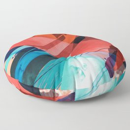 colors wall paint Floor Pillow