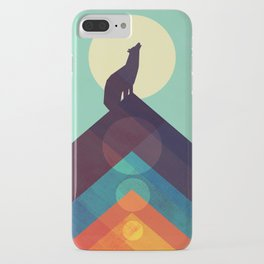 Howling Wild Wolf iPhone Case