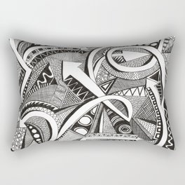 flechas Rectangular Pillow