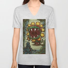 WINDMILL SHOWDOWN Unisex V-Neck