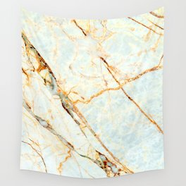 Golden Marble Wall Tapestry