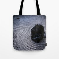 zen Tote Bags featuring Zen by Michelle McConnell