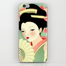 Geisha: Rose iPhone Skin