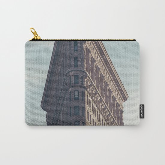 Flat Flat Iron - NYC Carry-All Pouch
