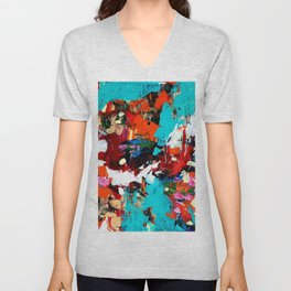 Journey to the Center of the Earth Unisex V-Neck