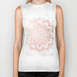 Imagination Rose Gold Biker Tank
