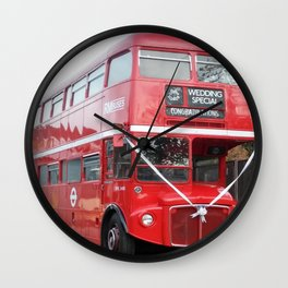 Double Decker Wedding Delight Wall Clock