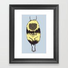 Bee Girl Framed Art Print