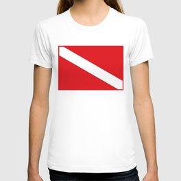 Diving flag T-shirt
