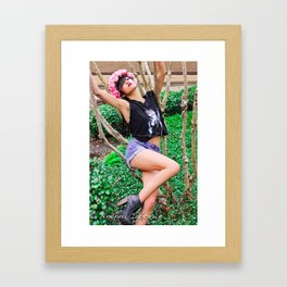 Sexy Laid Back 2 Framed Art Print