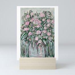 Roses in the Garden Mini Art Print