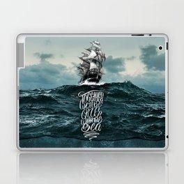 One With The Sea Laptop & iPad Skin