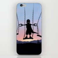 magneto iPhone & iPod Skins featuring Magneto Kid by Andy Fairhurst Art