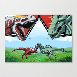 Tyrant VS Tyrant Canvas Print