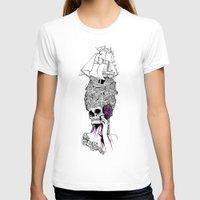 baroque T-shirts featuring Baroque skull by DespairLegion